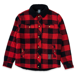 LAKOR LUMBER JACKET RED/BLACK