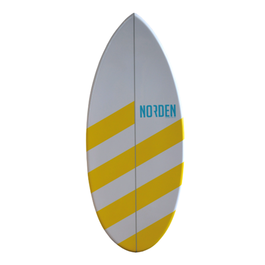 NORDEN SKIMBOARD STRIPED LEMON