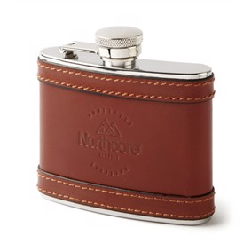 NOCO LEATHER HIP FLASKE 4 OZ