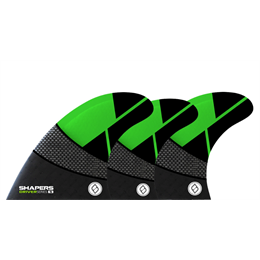SHAPERS DRIVER 6 FIN SETUP FB GREEN