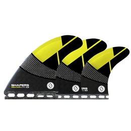 SHAPERS DRIVER 6 FIN SETUP FB YELLO